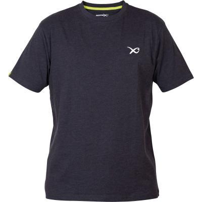 Matrix Minimal Black / Marl T-Shirt - XXL