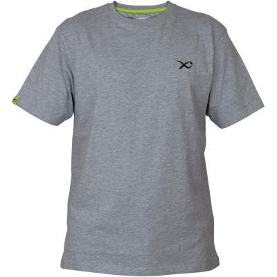T-Shirt Matrix Minimal Gris Clair / Chiné - XXXL