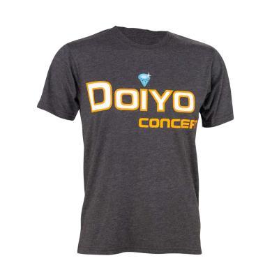 Doiyo T-Shirt Logo anthracite Gr. M.