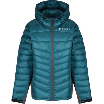 Greys MICRO QUILT JACKET (PETROL) M