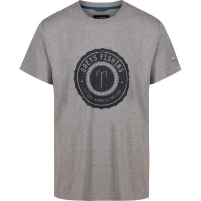 Greys HERITAGE T-SHIRT (GREY) XL