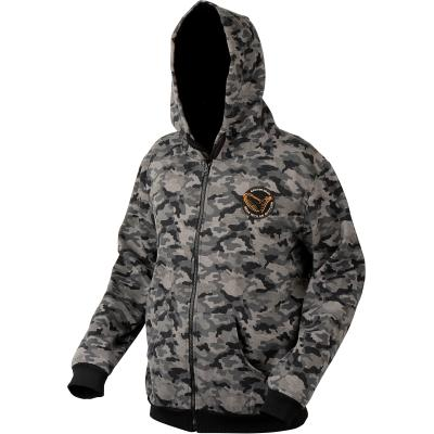 Savage Gear Black Savage Zip Hoodie XXL