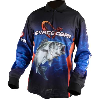 Savage Gear Tournament Jersey Seabass/Tuna Blue  S