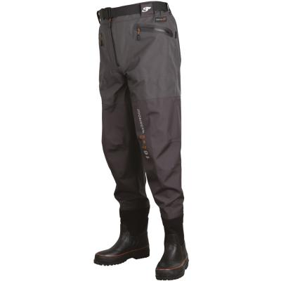Scierra X-16000 Waist Wader Boot Foot Cleated 44/45 - 9/10