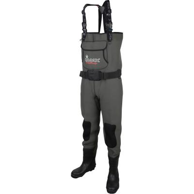 Imax Challenge Chest Neo Wader Cleated/Studs 44/45 - 9/10
