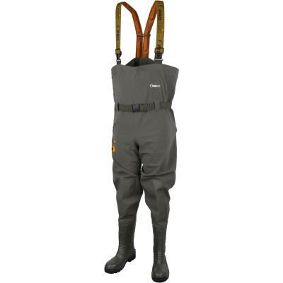 Prologic Road Sign Chest Wader w/Cleated Sole 41 7