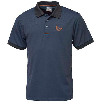 Savage Gear Simply Savage 3-Stripes Polo XL