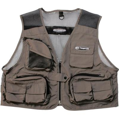 Ron Thompson Mesh Lite Fly Vest XXL Stone
