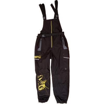 Black Cat XL rain dungarees black / yellow