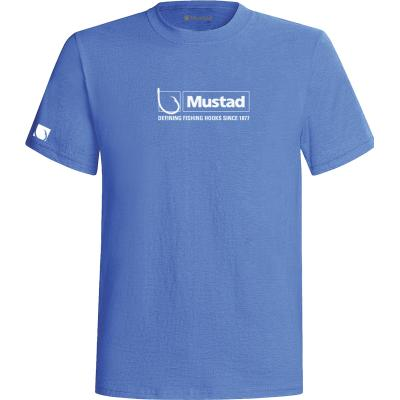 Mustad T-Shirt Gr. XXL blue