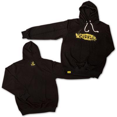 Black Cat XXL hoodie black