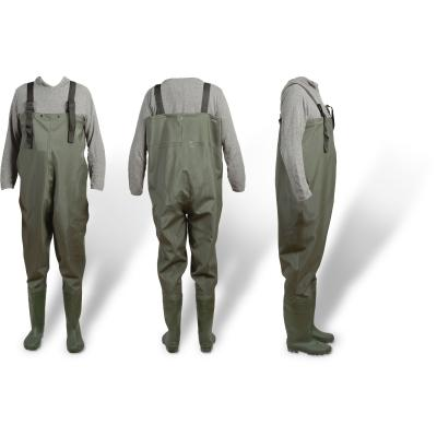 Zebco PVC waders # 42/43 green