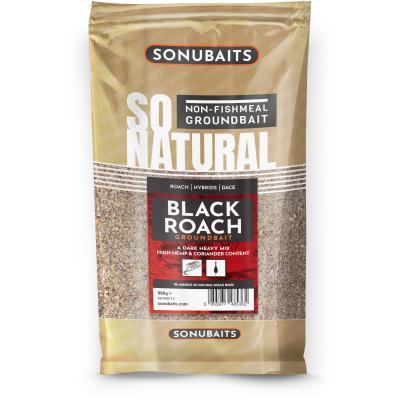 Sonubaits Groundbait So Natural Black Roach 900g