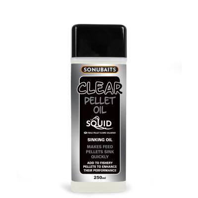 Sonubaits Clear Pellet Oil Squid 250ml