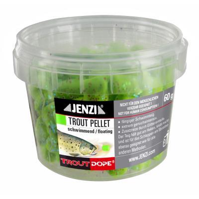 JENZI Trout pellets 60g green