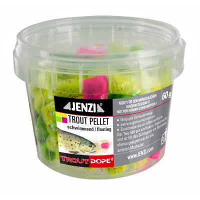JENZI Trout pellets 60g multi-color