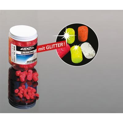 JENZI Marshmallows light red (vanilla) large: 12mm