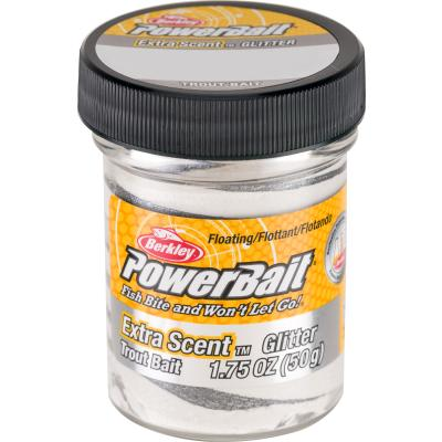 Berkley Trout Bait Select Glitter 1.8OZ Silvervein
