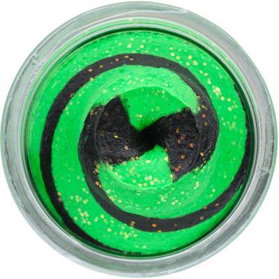 Berkley PowerBait Natural Glitter Trout Bait Spring Green / Black 50g