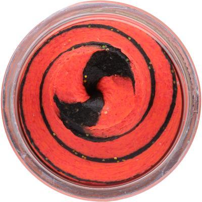 Berkley PowerBait Natural Glitter Trout Bait Black / Fluorescent Red 50g