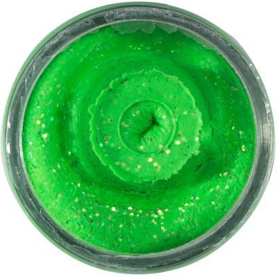 Berkley PowerBait Sinking Glitter Trout Bait Spring / Lime 65g