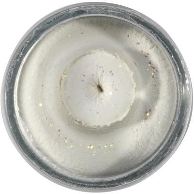 Berkley PowerBait Sinking Glitter Trout Bait Blanc 65g