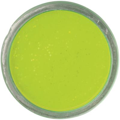 Berkley PowerBait Sinking Glitter Truite Bait Chartreuse 65g