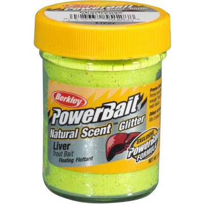 Berkley Powerbait Dough Natural Scent Liver - Sunshine Yellow