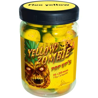 Quantum 16+20mm Neon Pop Up Yellow Zombie