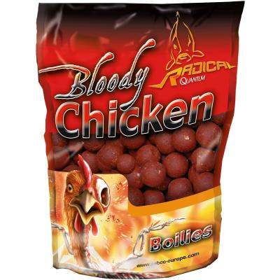 Quantum 16mm/1kg Boilie Bloody Chicken,