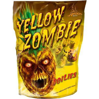 Quantum 16mm/1kg Boilie Yellow Zombie