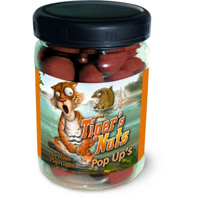 Quantum Radical Tiger's Nuts Pop Up's 16mm 75g