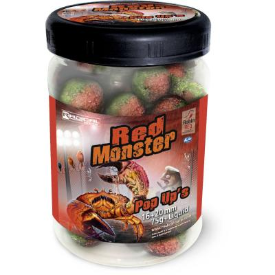 Radical Baits Red Monster Pop Up's Ø16mm u. Ø20mm 75g