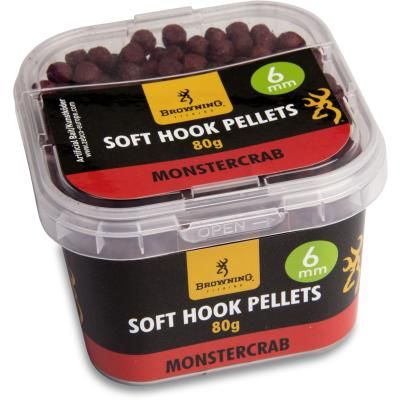 Browning Soft Hook Pellets 6 mm15cmMonster Crab, 80 g
