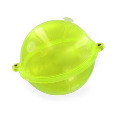 Boule à eau JENZI avec œillets métalliques, jaune / transparent, Buldo d'origine, 14,0 g