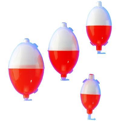 Boule à eau JENZI à écoulement interne, rouge / blanc, 15,0 g