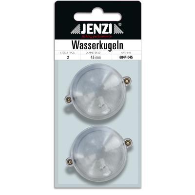 Boule d'eau JENZI ronde avec 2 oeillets métalliques trans 40mm