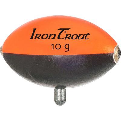 Flotteur aux oeufs IRON TROUT 12g orange / noir