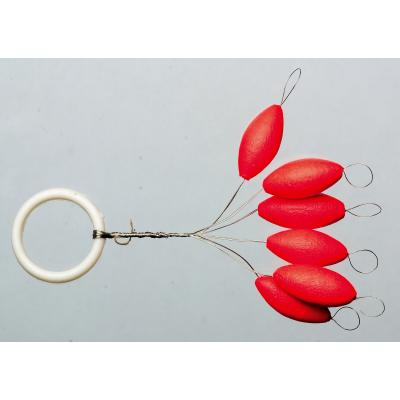 Iron Trout light pilot oval / red 8mm