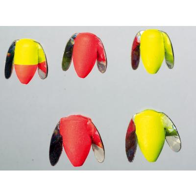 Flotteur Iron Trout Trout Rotor. jaune rouge
