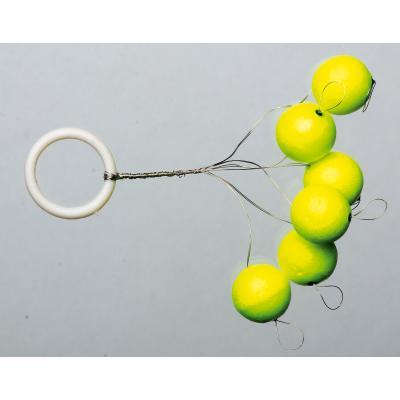 Iron Trout light pilot yellow / round 18mm