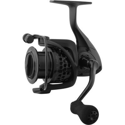 Okuma Custom Black Feeder CLXF-55 FD 7 + 1bb Alu Spare Spool