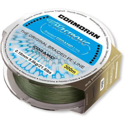 Tresse Cormoran Corastrong vert 0.30mm 21kg 300m