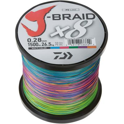 Daiwa J-Braid X8 0.28mm-1500m multi c