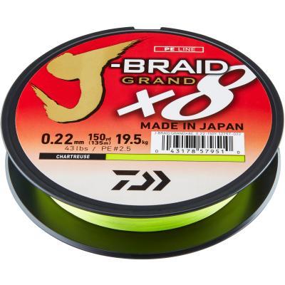 Daiwa J-Braid Grand X8E 0.16mm-270m CH