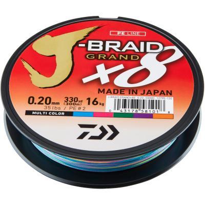 Daiwa J-Braid Grand X8E 0.24mm-300m MC