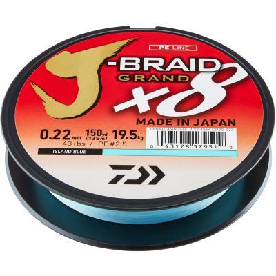 Daiwa J-Braid Grand X8E 0.22mm-270m IB