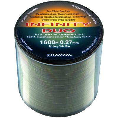 Ligne de carpe monofilament DAIWA Infinity Duo Carp 0,33mm 1060mt