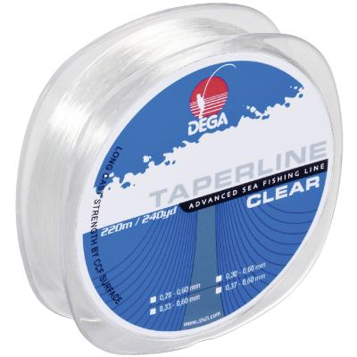 DEGA Taper Line chalk line Transparent 0,37-0,60mm 220m