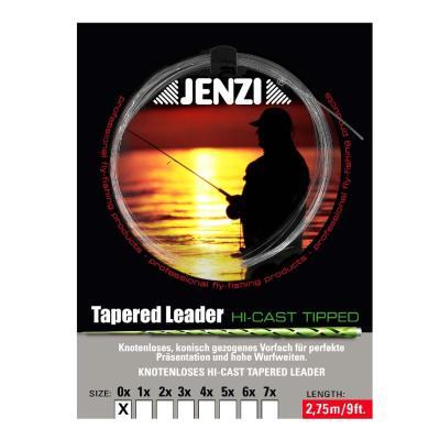 JENZI Tapered Leader - Le classique 7x / 0,12 / 0,44